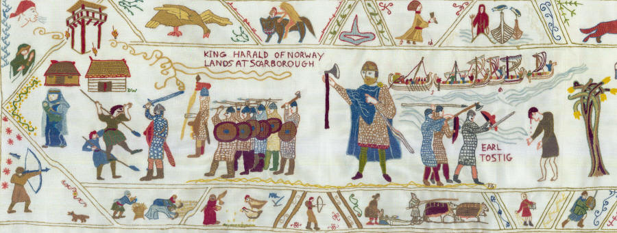 Fulford Tapestry panel 1