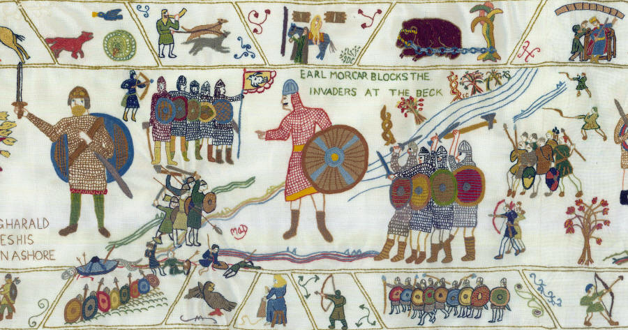 Fulford Tapestry panel 4